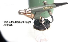 Harbor Freight Airbrush
