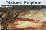 Natural Sulphur