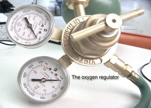 2 Stage Oxygen Regulator