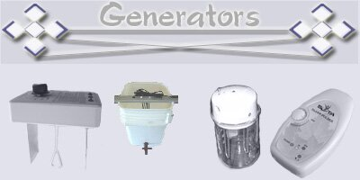 Colloidal Silver Generators